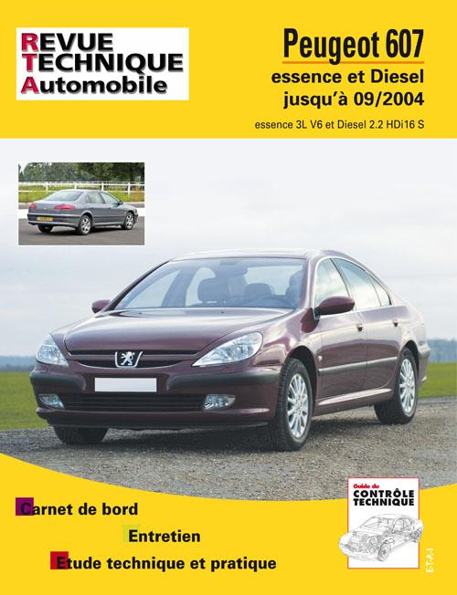 Peugeot 607 2000-04 Essence & Diesel RTAB708