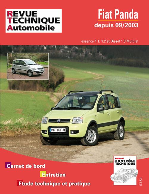 Fiat Panda 4X4 2003- 1.1, 1.2, 1.3D (RTA B706)