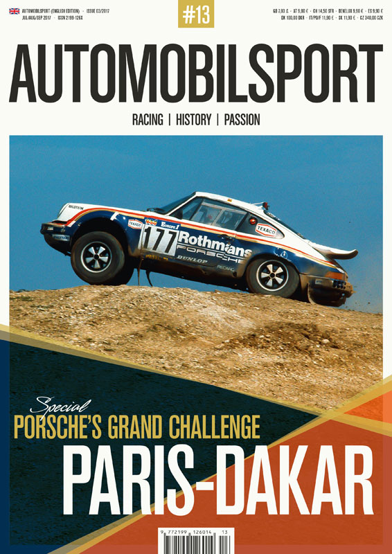 Porsche's GC Paris-Dakar (Vol. 13 Automobilsport)