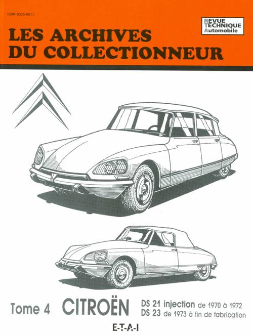 Citroen DS 21 inj.(1970-72 )-DS 23 (dpuis 73) AC33