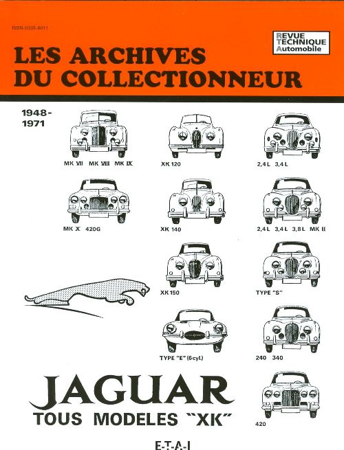 Jaguar XK, MK, E 1948-71 (AC03)