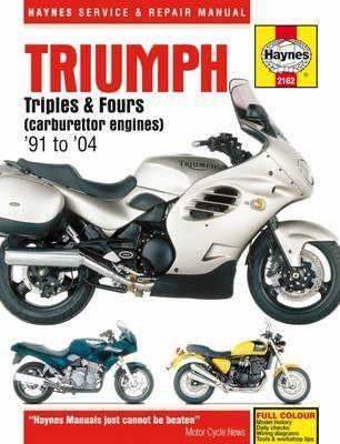 Triumph Triples and Fours (carburattor) 1991-04