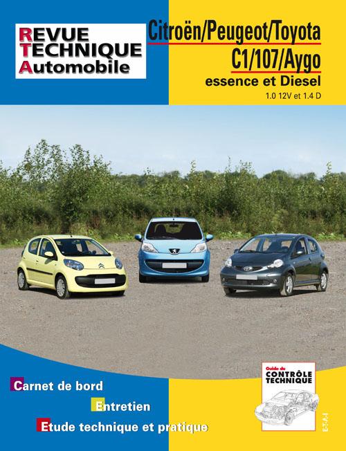 Citroen C1/Peugeot 107/AYGO 1.0 /1.4HDI (RTAB701)