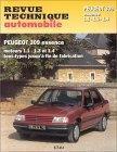 Peugeot 309 Essence 1.1, 1.3, 1.4 RTA706