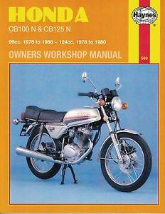 Honda CB 100N & CB 125 N
