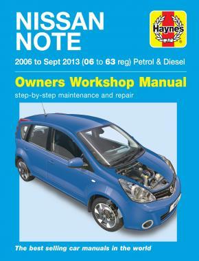 Nissan Note Petrol/Diesel 2006-13