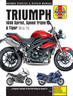 Triumph 1050 Sprint ST, Speed Triple & Tiger 05-15