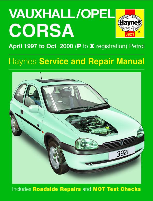 Vauxhall/Opel Corsa Petrol 1997-2000