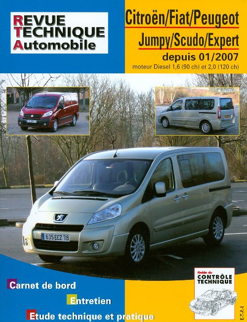 Citroen/Fiat/Peugeot Jumpy/Expert II 2007- RTAB728