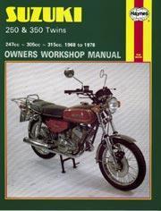 Suzuki 250 & 350 twins 1968-78