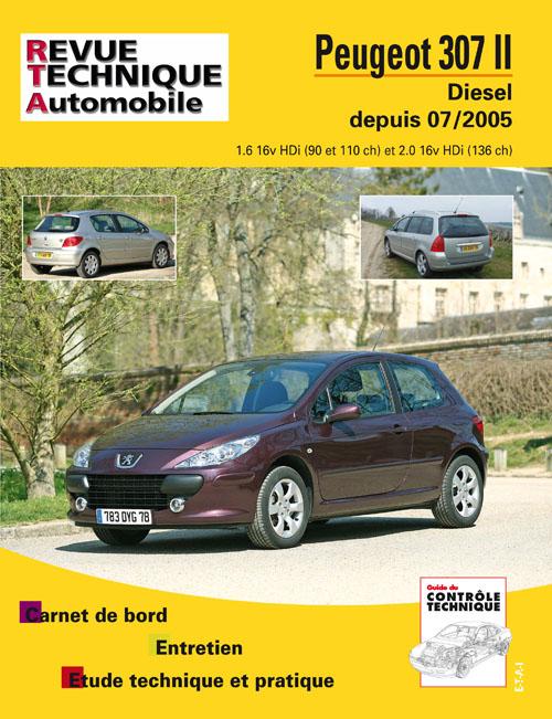 Peugeot 307 II 2005- D 1.6 & 2.0 Hdi B707