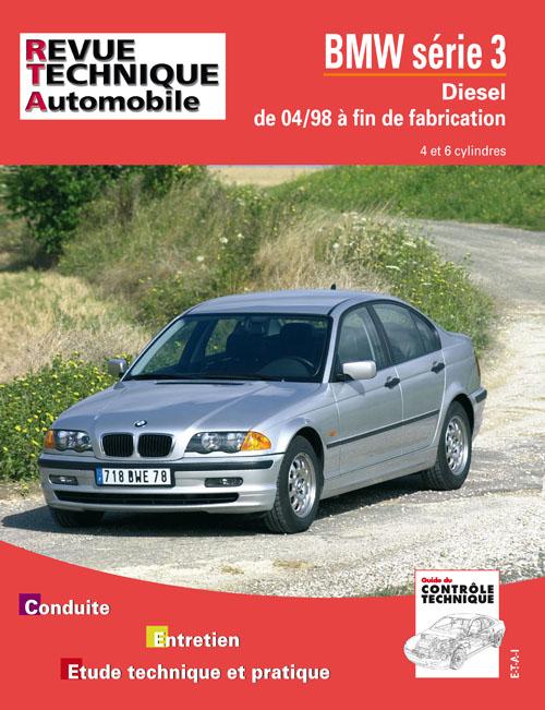 Bmw 320d-330d de 04/98 a 10-2001 (RTA645)