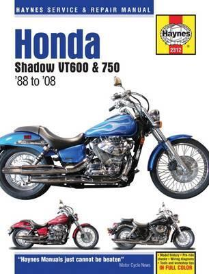 Honda Shadow VT600 & 750 1988-14