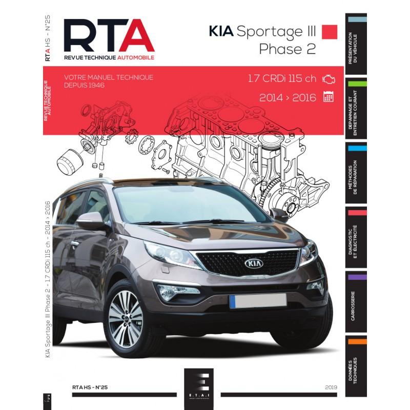 KIA Sportage III Phase 2 RTA HS25 (2014-2016)