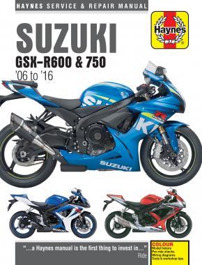 Suzuki GSX-R600 & 750 2006-16