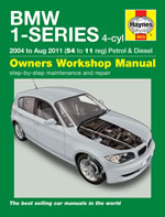 BMW 1-Series 4-cyl Petrol & Diesel 2004-2011