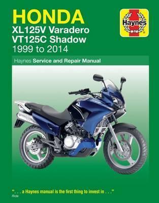 Honda XL125V & VT125C 1999-14