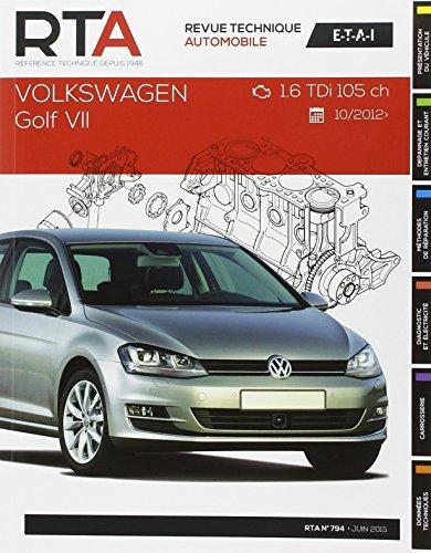 VW Golf VII depuis 10/12  (RTAB794)