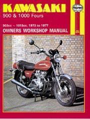 Kawasaki 900 & 1000 Fours 1973-77
