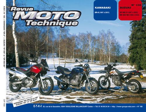 F108 Kawasaki ER-5 & Suzuki DR650S/XF650 Freewind