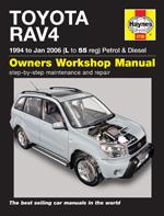 Toyota RAV4 Petrol & Diesel 1994-06