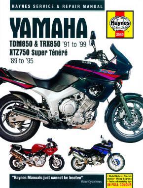 Yamaha TDM850, TRX, XTZ750 S-Tenere 1989-99