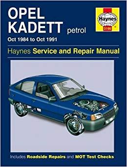 Opel Kadett Petrol 1984-91