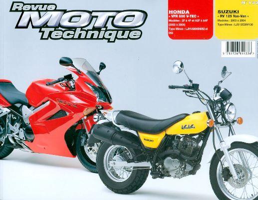 F133 Honda VFR 800 (02/04) Suzuki RV 125 2003-04