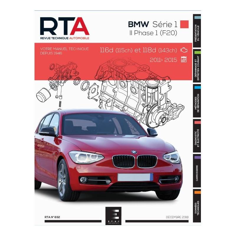 BMW Serie 1 II Phase 1 F20/F21 2011-2015 (RTA832)