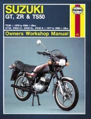 Suzuki GT, ZR & TS50 1977-90