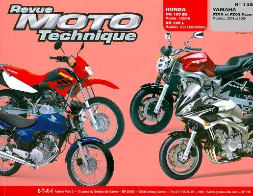 F135 Honda CG125 2003-04 Yamaha FZ6+Fazer