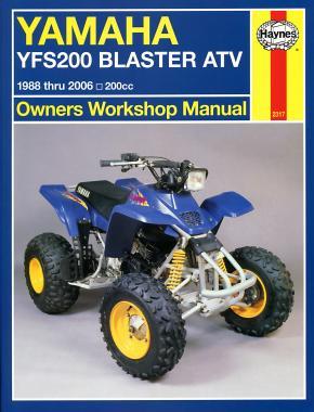 Yamaha YFS200 Blaster ATV 88-06