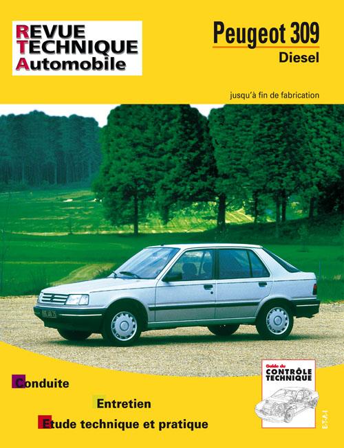 Peugeot 309 D & TD RTA483