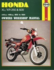 Honda XL/XR 250 & 500 1978-84