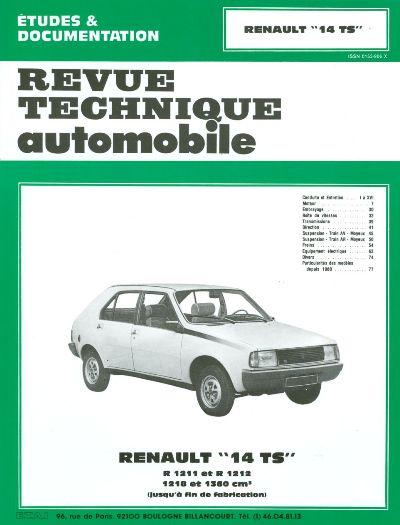 Renault 14 TS 1976-83 (RTA394)