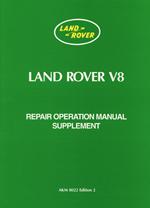 Land Rover Series 3 V8 Suplement Worshop Manual