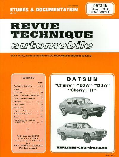 Datsun Cherry 100A, 120A 1972-79 (RTA349)