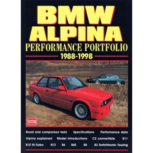 Bmw Alpina Performance Portfolio 1988-98
