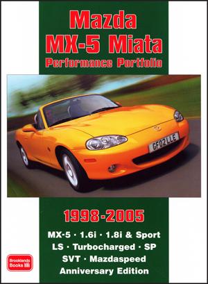 Mazda MX-5 Miata Performance Porfolio 1998-2005