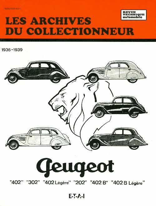 Peugeot 202-302-402 1936-39 (AC09)