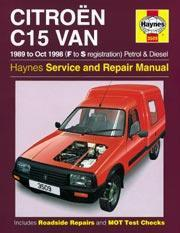 Citroen C15 Van Gas/D 1989-98
