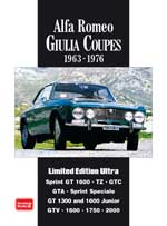 Alfa Romeo Giulia Coupes 1963-76 Limited Edt Ultra