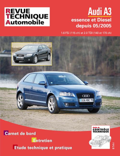 Audi A3 2005- 1.6Fsi, 2.0Tdi (140/170) (RTAB715)