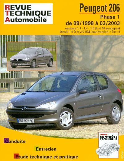 Peugeot 206 1998-2003 Essence & Diesel RTA103