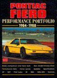 Pontiac Fiero Performance Portfolio 1984-88