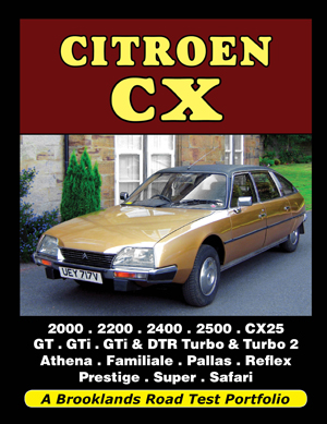 Citroen CX Road Test Portfolio
