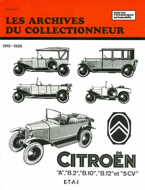 Citroen A, B2, B10, B12 1926-1928 (AC14)