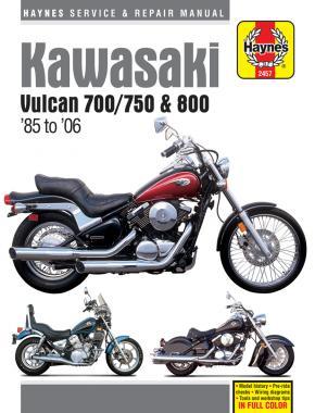 Kawasaki Vulcan 700/750 & 800 1985-06