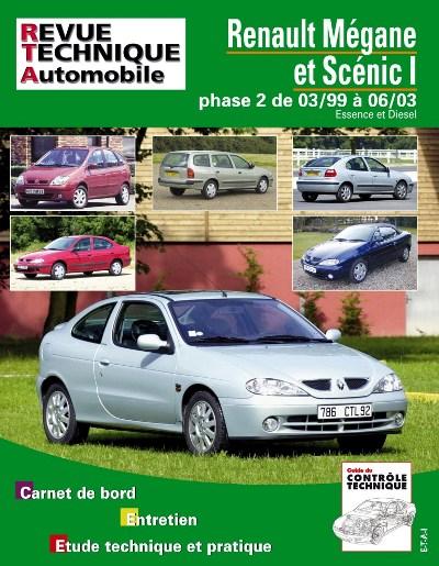 Renault Megane & Scenic Diesel -2001 (RTA120)