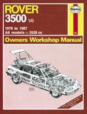 Rover 3500 V-8 1976-87